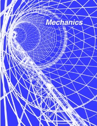 Mechanics, an online physics textbook